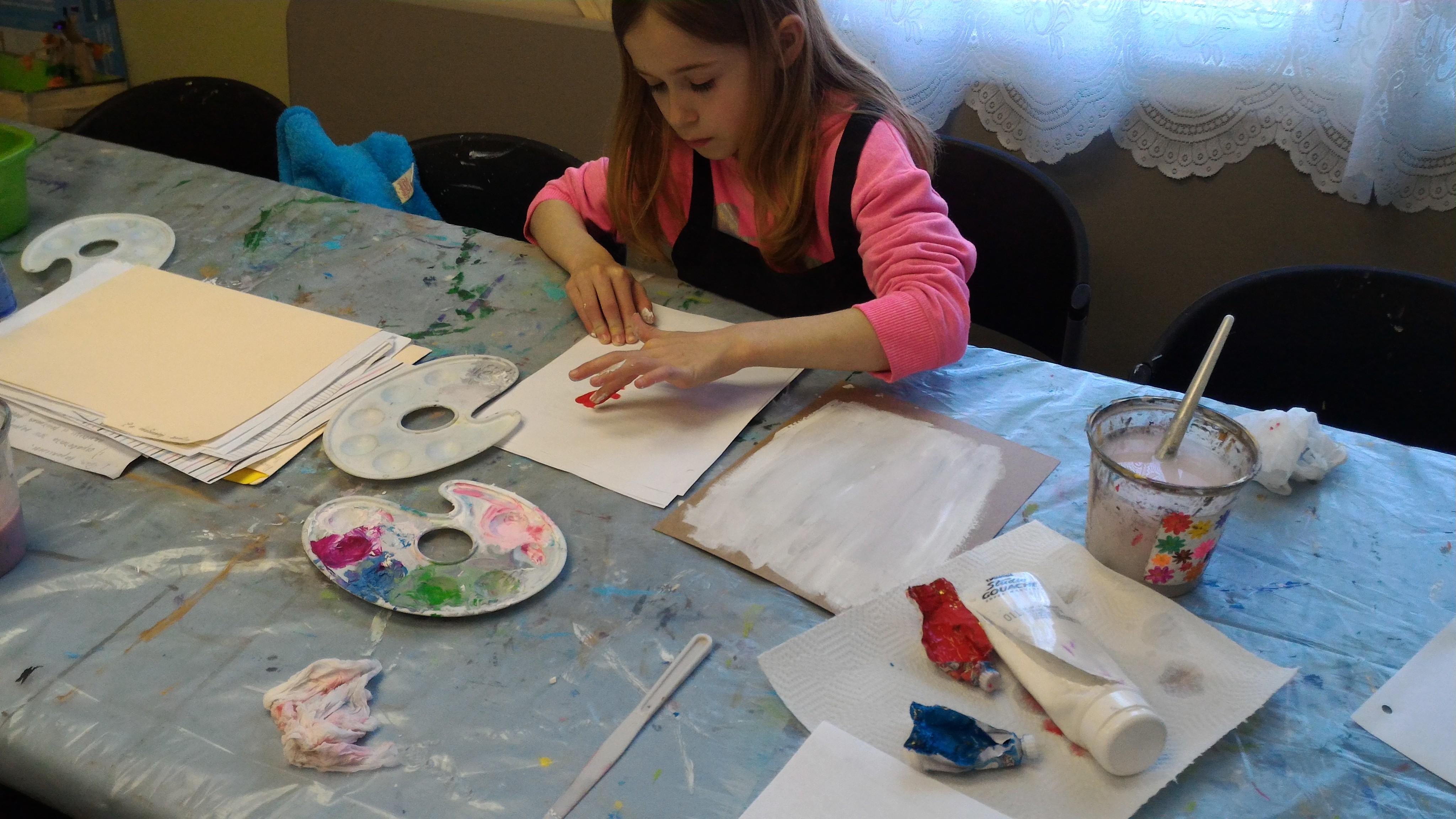 Class: Creative artists   Az-Book-Ah! Kids Center   Math, Arts and